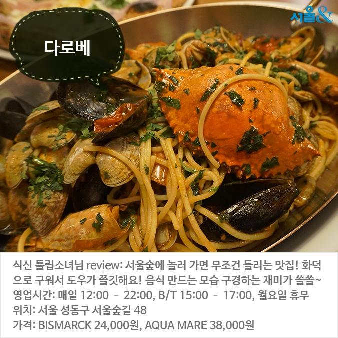 봄나들이 가기 좋은 서울숲 인근 맛집