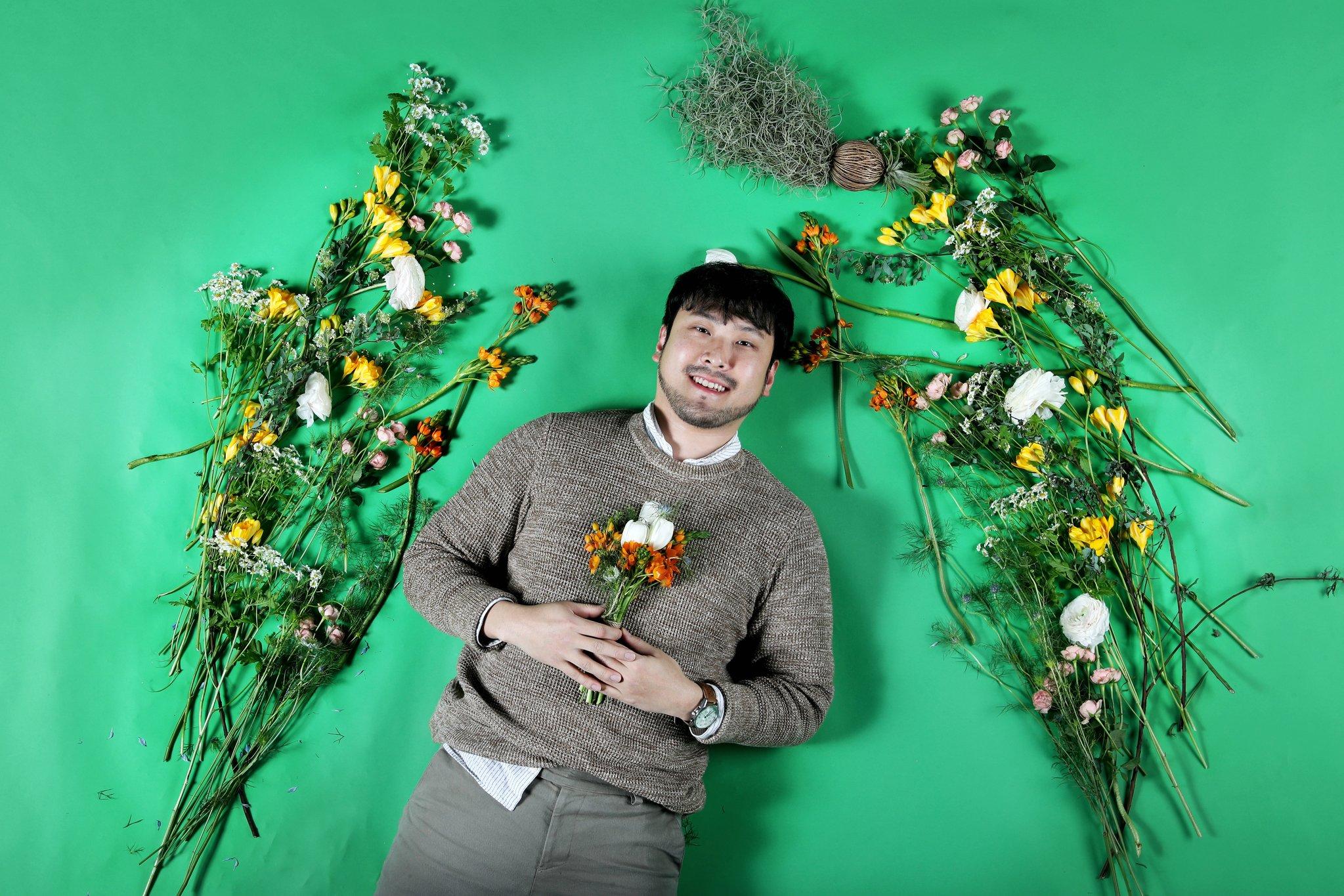'남자가 무슨 꽃이야?' 편견 이겨낸