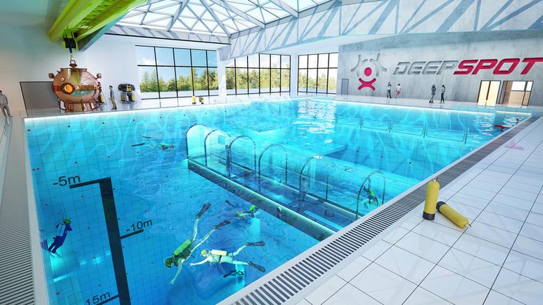세계에서 가장 수심이 깊은 수영장은?