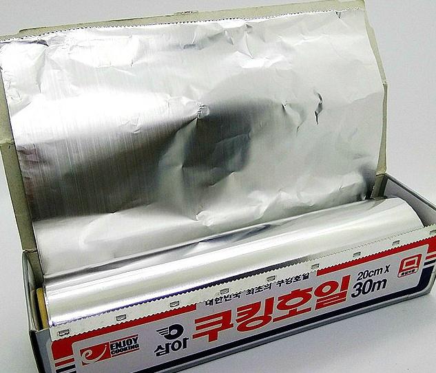 주방 필수품 알루미늄 호일 만능 활용