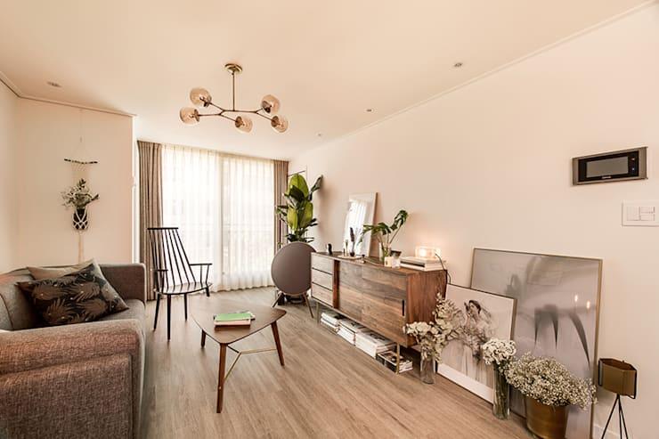 아파트 방향과 방 종류에 따른 커튼·
