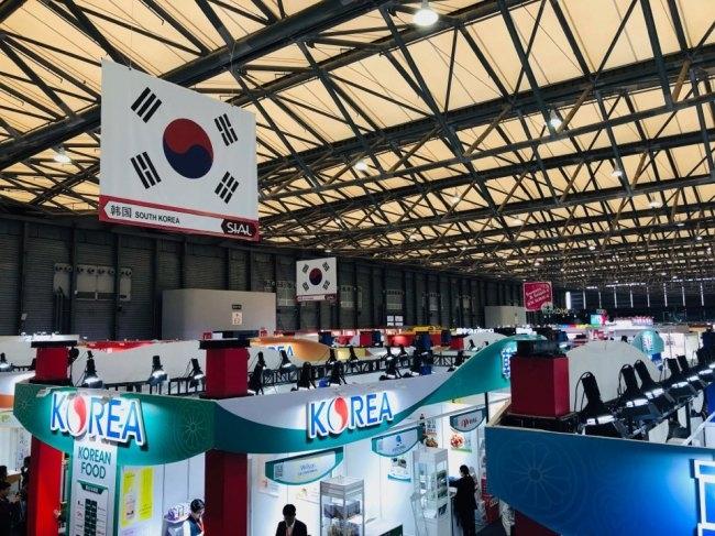 올해 한국에선 134개가 업체가 참가, 사드 침체기를 극복하며 중국 시장에서 좋은 성과를 올리고 있다