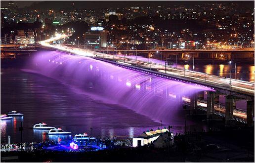 한강서 만나는 빛의 도시… 분수쇼ㆍ