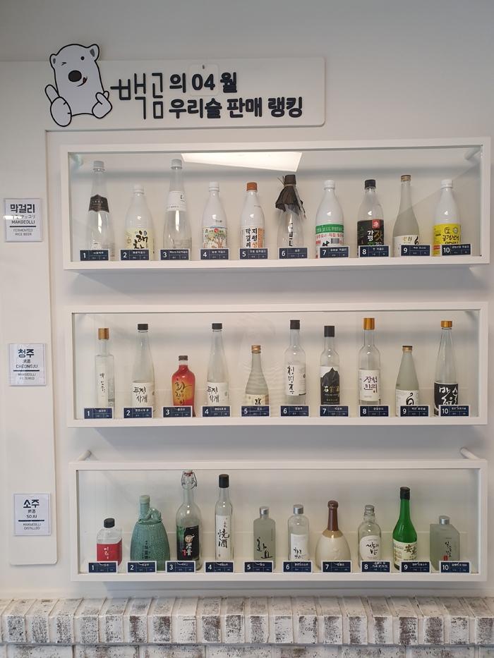 전국 최다 주종을 보유한 '전통주 성지' 백곰막걸리 [백곰막걸리 제공]