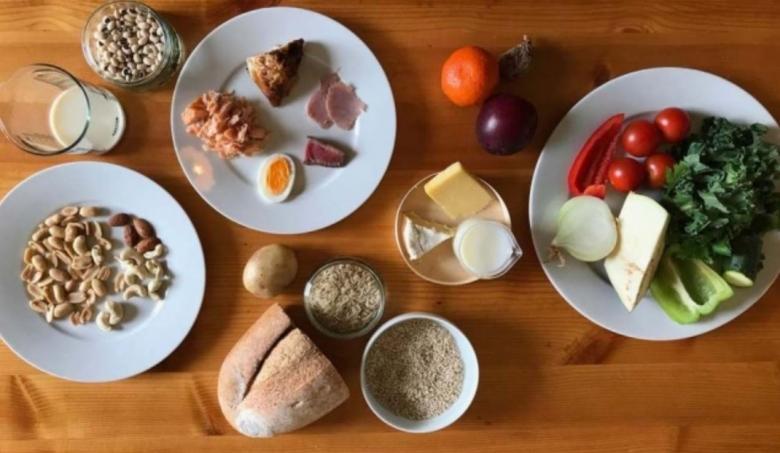 이트-랜싯 위원회가 권장하는 인류세 시대의 지속 가능하고 건강한 식단 [사진=The EAT-Lancet Commission]