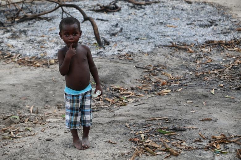 홍수나 가뭄 등 점점 증가하는 기후변화 재난으로 기아인구가 늘어나고 있다. 사진=WFP