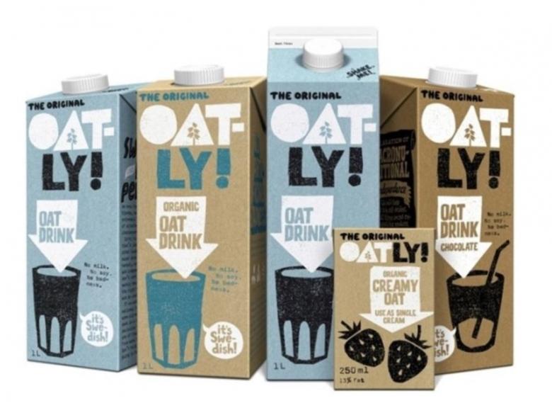 스웨덴 기업 오틀리(Oatly)의 귀리음료