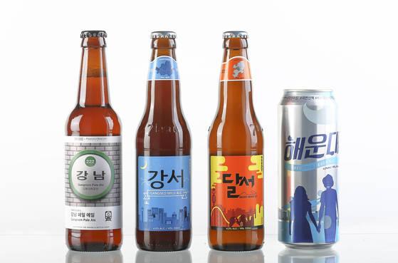 강남 사람은 강남 맥주 마신다고요?