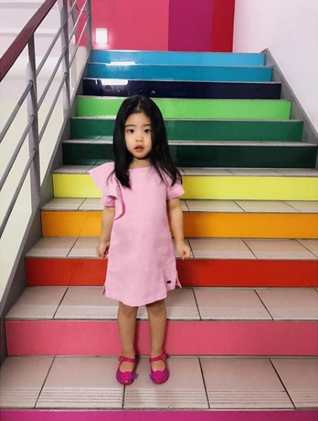 한재석♥박솔미 딸 서율, 엄마·아빠