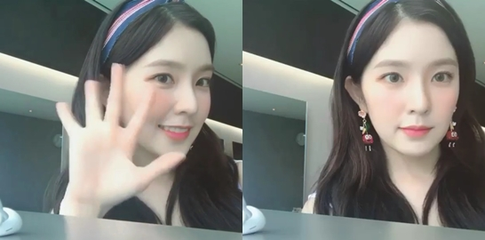 아이린, '쫌만 기다료' SNS 영상