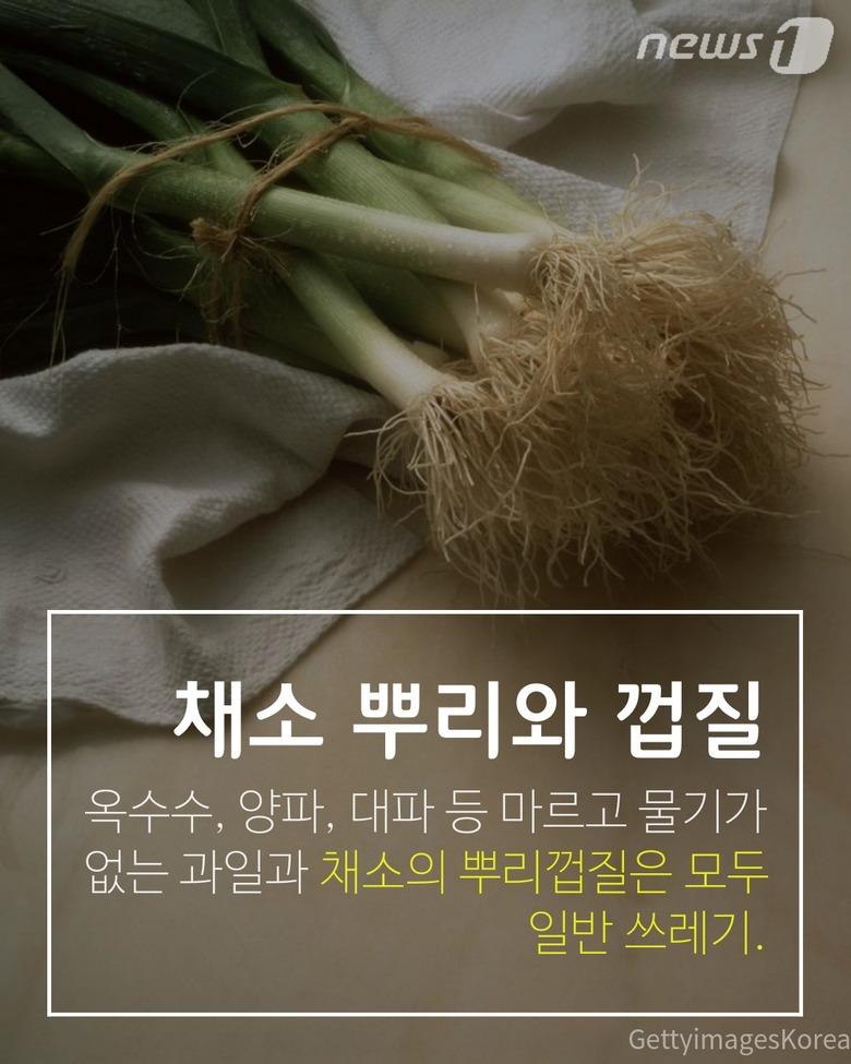 똑소리나는 음식물 쓰레기 분리 배출