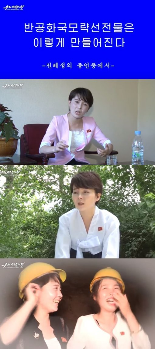 """임지현, 北 매체 또 등장 """"남조선"""