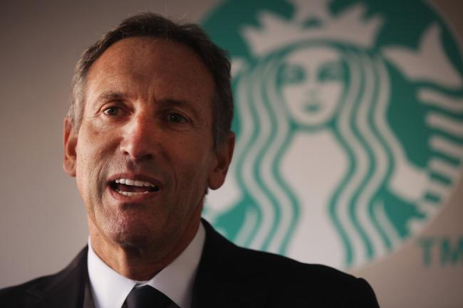 """""""전진, 앞으로!"""" 스타벅스 CEO"""
