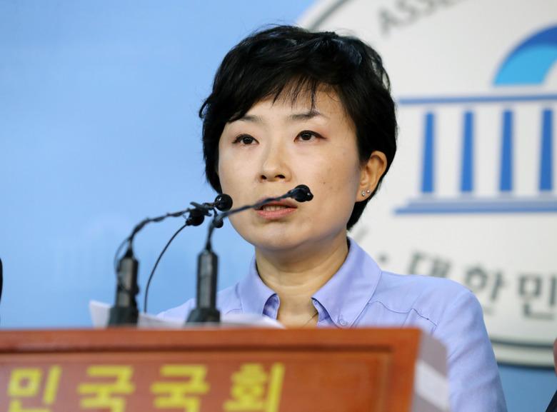 """대한애국당 신혜원 """"최순실 태블릿PC"""