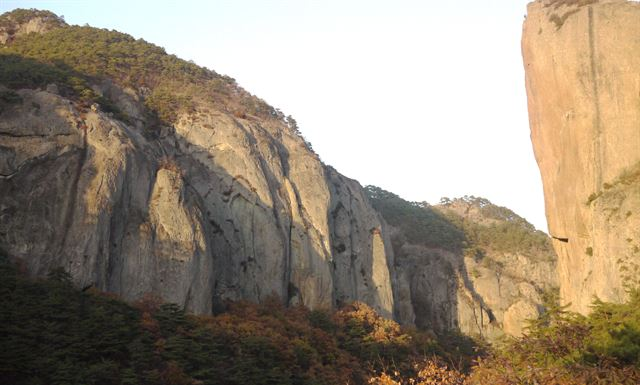 주왕산 주산지 백석탄 방호정…천하절경