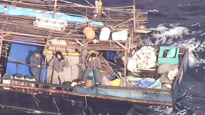 배 안에서 발견된 '백골', 언제 죽