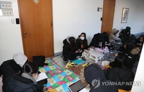 대학 학과통폐합 몸살…서울여대 총장실