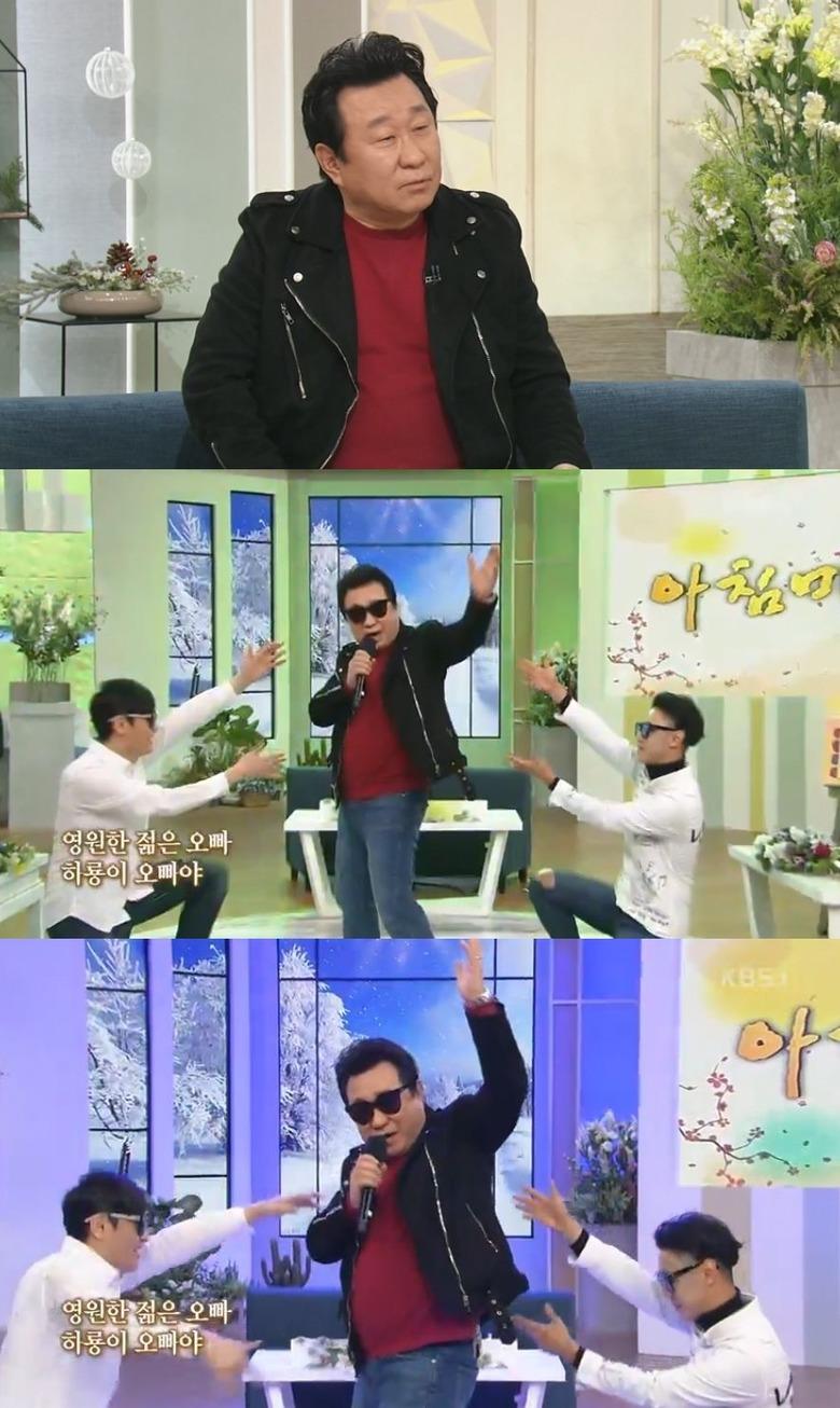 """""""코미디언=희극배우"""" 임하룡, 직접"""