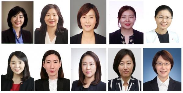 기업에 부는 거센 '여풍(女風)'..