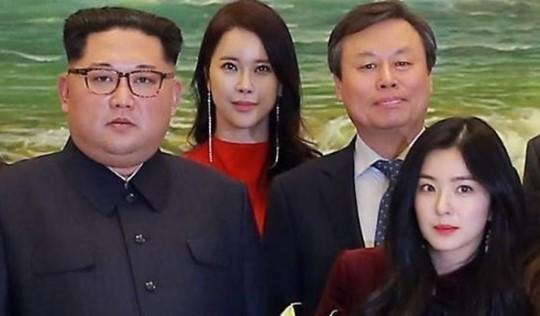 """""""아이린, 김정은 옆자리는 100%"""