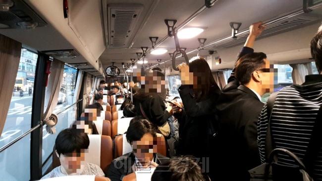 """서울버스 음식물 반입금지…""""바쁜 아침"""