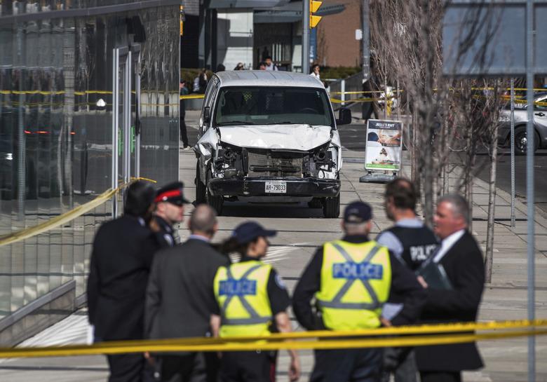 캐나다 토론토서 차량 인도 돌진…정부