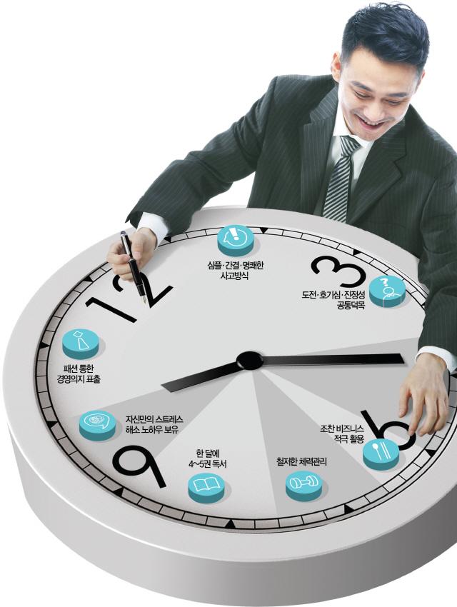 성공한 CEO의 색다른 '24時'
