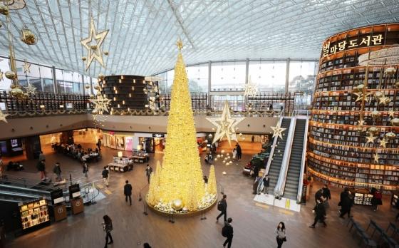 '대형쇼핑몰엔 책방'이라는 새로운 성