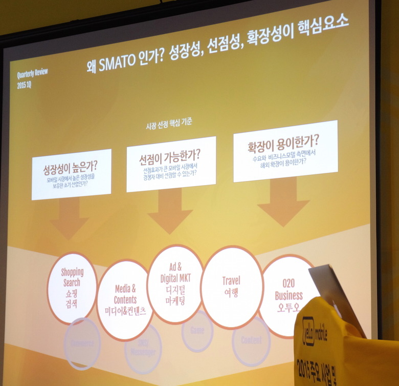 옐로모바일이 발표한 아시아 시장 선점