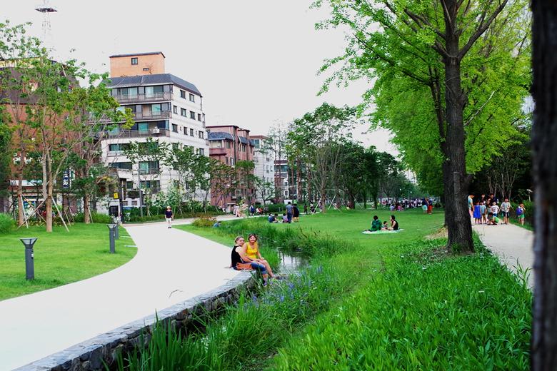 철길이 공원으로 탄생하다