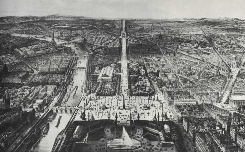파리지앵들이 사랑했던 비 내리는 풍경