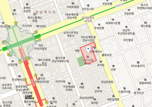 강남구 역삼동 '음악국수'
