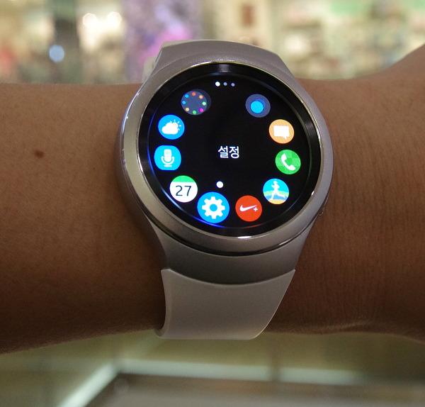 기어S2, 원형 시계의 품격과 스마트