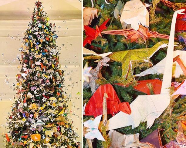 슈퍼리치들의 크리스마스 트리 '예술'