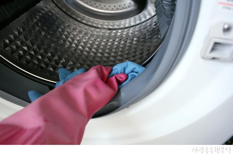 드럼세탁기 셀프 청소 방법
