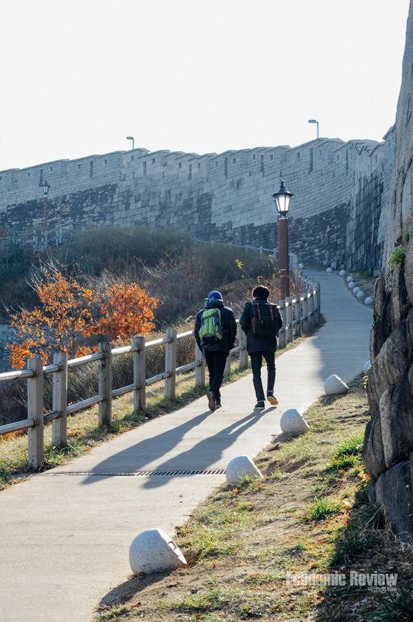 초보자도 쉽게 오를 수 있는 서울성곽