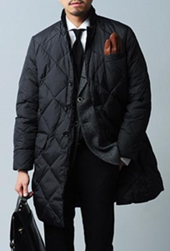 겨울을 따뜻하게 보내기 위한 남자 직