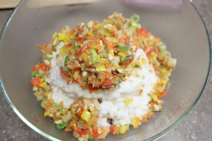 피크닉도시락 햄말이밥