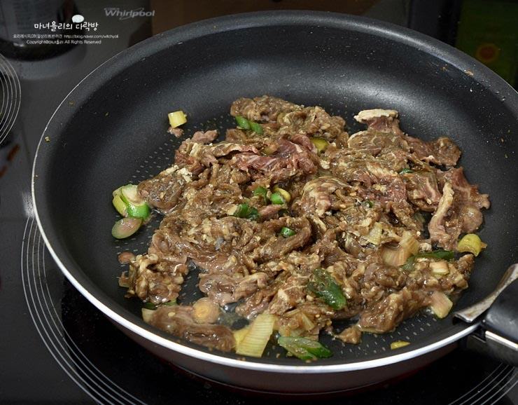 피크닉 도시락메뉴 땡초 불고기 김밥