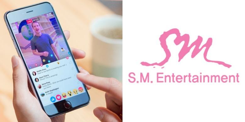 페이스북은 왜 SM엔터테인먼트와 손을