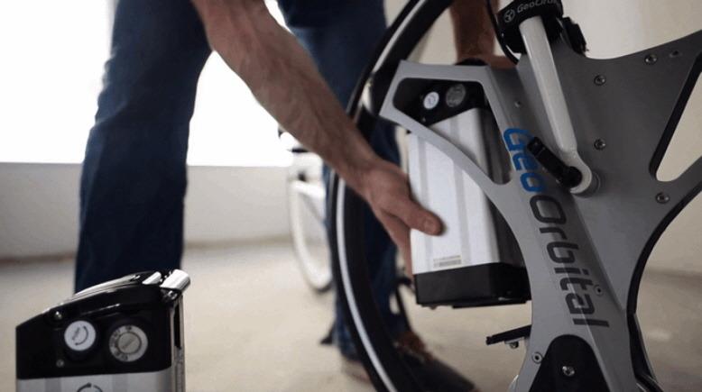 앞바퀴만 바꾸면 전기자전거로 변신하는