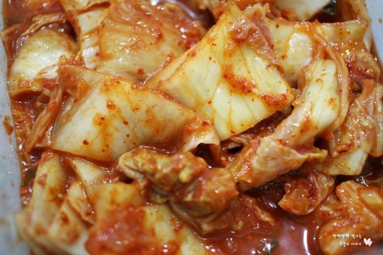 시원한 김치콩나물국밥 만드는 법