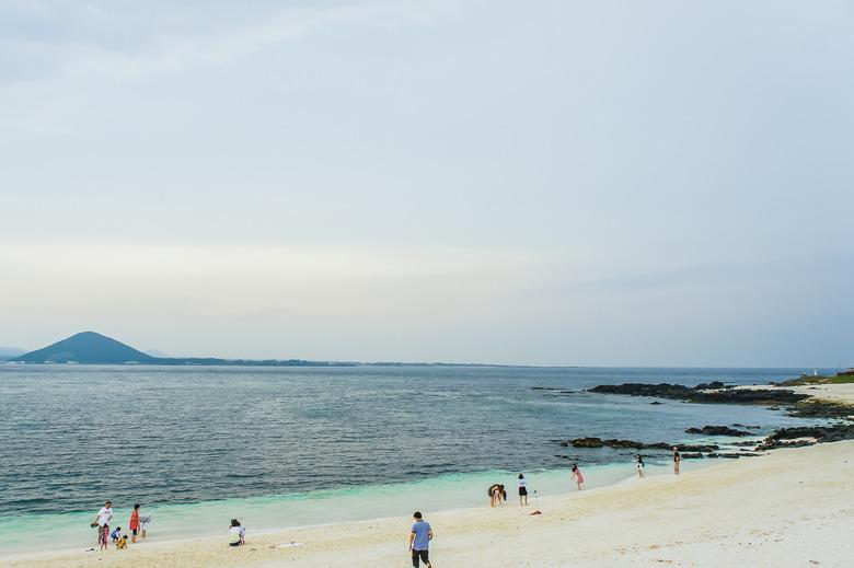 우도 산호사해변, 그리고 '시월애'