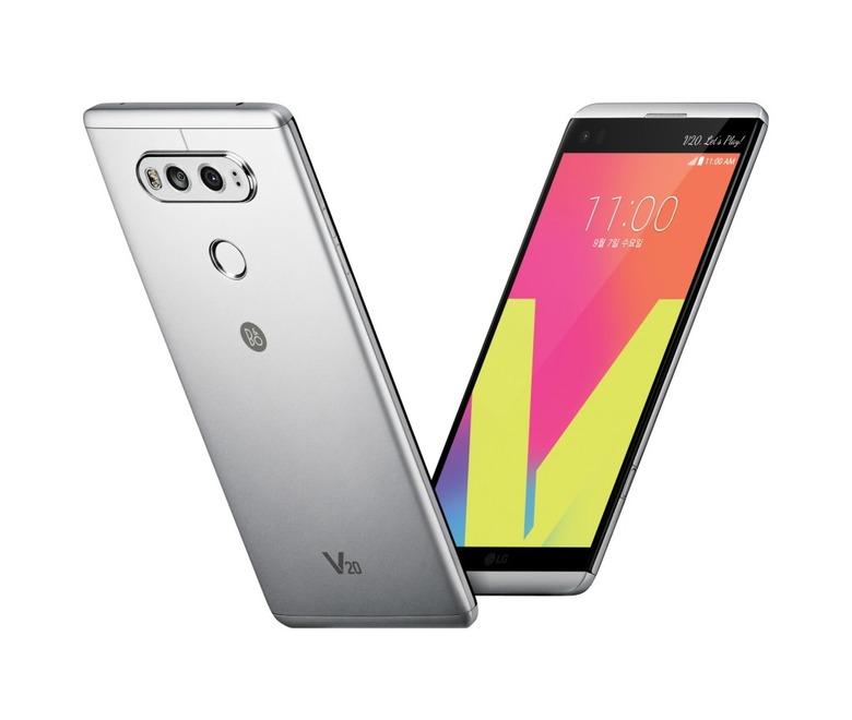 LG전자 V20 발표, G5 돌파구