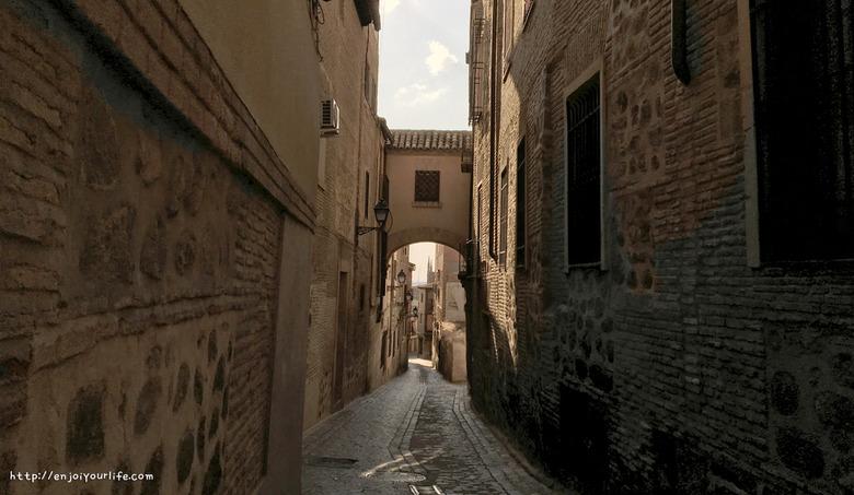 스페인 톨레도(Toledo)의 아늑함