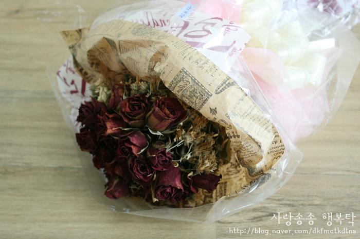 꽃다발 오래 보관하는 법