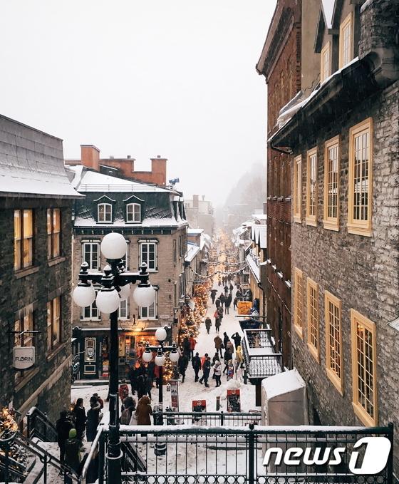 퀘벡시티… 도깨비의 첫사랑이 시작된