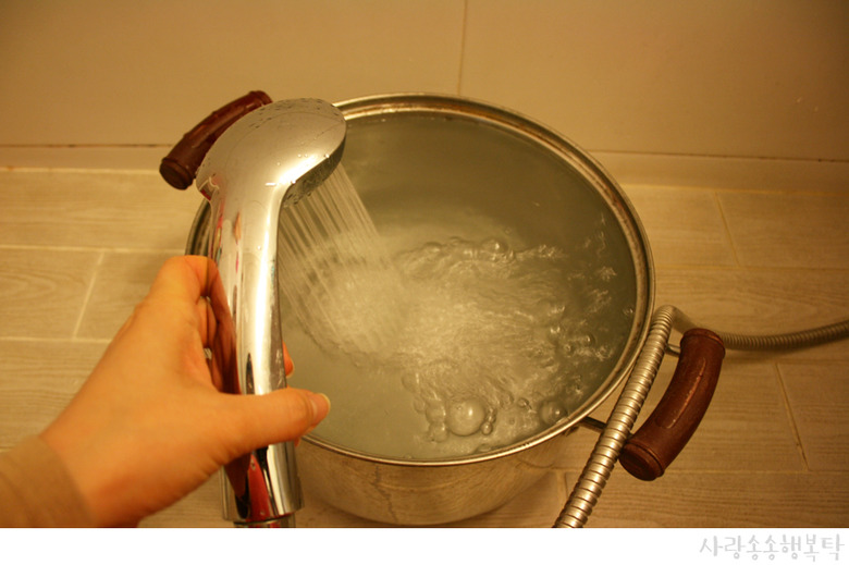 드럼세탁기 얼었을때 : 동파 해결법