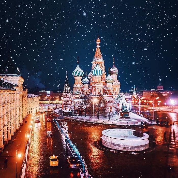 세상에서 가장 아름답고 환상적인 겨울