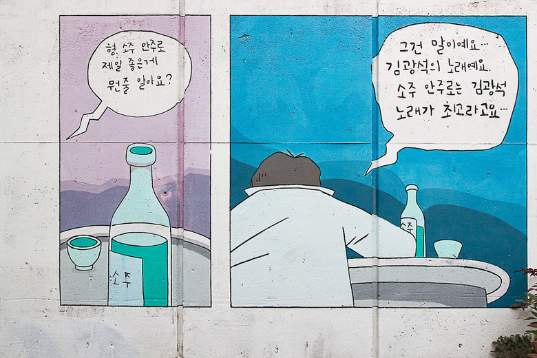 대구 김광석 다시 그리기 길 위로가